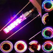 2x Neu 5 LED Blitz Licht Fahrrad Radfahren Motorrad Auto sie Reifen Wheel Ventil