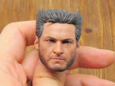 Custom 1/6 Scale DOFP Wolverine Hugh Jackman Head Sculpt For Hottoys Body