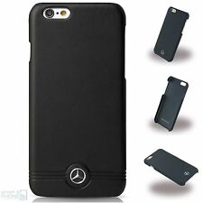 "Mercedes Echtleder iPhone 6/6s Plus 5,5"" Hard Case Cover Schutzhülle Handytasche"