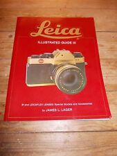 1979 LEICA Illustrated Guide III.M/LEICAFLEX LENSES/Special Models/Accessories.