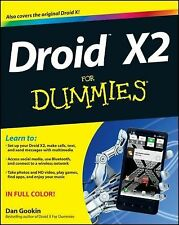 Droid X2 For Dummies, Gookin, Dan, Good Book