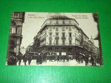 Cartolina Milano - Via Carlo Alberto - Angolo Via Torino 1917