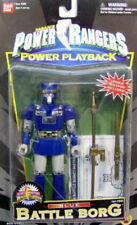 Mighty Morphin Power Rangers Power Playback Blue Battle Borg By Bandai (MOC)