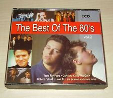 v/a THE BEST OF THE 80'S Vol. 2 2CD 2001 Universal Tears for Fears Yello Voggue