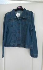 BNWT ladies size S denim jacket by Avenue
