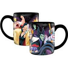Disney Bad Girls 14oz Coffee Tea Cup Mug Bad Girls Villains Cruella DeVille