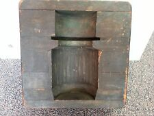 Antique Industrial Wood Foundry Mold