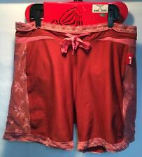 RED Women's Impact Snowboard Shorts Brimstone Red Pink Size XL Extra Large NEW