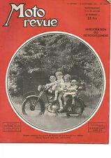 MOTO REVUE N°1.049 AMELIORATION DU REFROIDISSEMENT / DUKE / MULLER / LORENZETTI