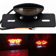 LED MOTORCYCLE REAR LICENSE BRAKE TAIL LIGHT STOP SIGNAL FOR BOBBER CAFE RACER