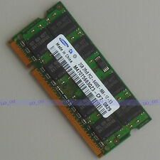 Samsung 2GB DDR2 PC2-6400 800 800mhz CL6.0 Laptop Notebook Speicher So-dimm Ram