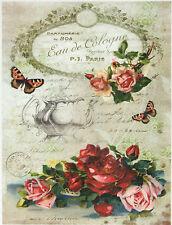 Ricepaper / Decoupage paper, Scrapbooking Sheet Eau de Cologne
