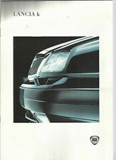 LANCIA K FULL BROCHURE 1994 10 PAGES IN FRENCH