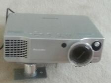"Panasonic AE900U projector with ceiling mount and 110"" screen"