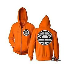 Dragonball Z DBZ Kame Symbol Guko Anime Licensed Adult Zip Up Hoodie S-3XL