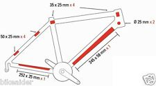 Zefal Skin Armor (M) 12 x Transparent Bike Frame Chainstay Down Tube Protectors