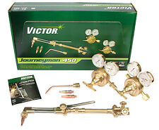 Victor Journeyman 450 Torch Kit Set With Regulators CA2460 315FC SR450 0384-0807