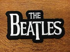 """New"" The Beatles Music Band Logo Embroidered Applique Iron on Patch"