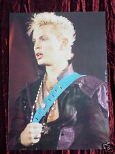 BILLY IDOL - ROCK/ POP STAR - 1 PAGE PICTURE - CLIPPING / CUTTING -#4