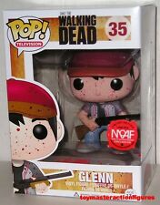 FUNKO POP TELEVISION The WALKING DEAD BLOODY GLENN #35 MOAF Exc Figure IN STOCK