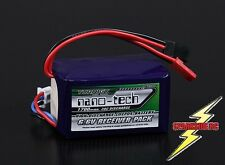 Nano-Tech 1700Mah 2S 6.6v 20C - 30C LiFE Receiver Pack - UK - Fast delivery