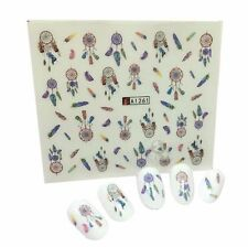 Nail Art Stickers Water Decals Transfers Dreamcatchers (A-1261)