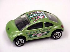 Matchbox code2 green VW Beetle Concept AD-Ventures, Inc. 2004 graphics roof/side