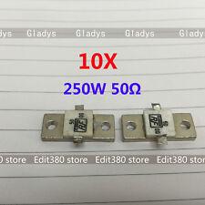 10X 2-Lead RF Termination Resistor HF Dummy Load 250W 250Watt 50ohm 50R DC-2G