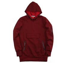 NEW Killion Mott Roma Tech Anorak Pullover Hoodie Burgundy Sz M Medium kith