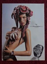 2004 Print Ad TECHNOMARINE Geneve Watch Watches ~ Pretty Girl with Octopus