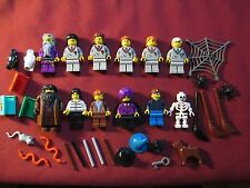 LEGO Harry Potter minifigures LOT Dumbledore,Quirrell,Ron,Hermione,James,Ginny