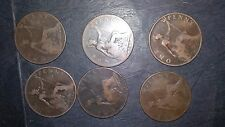 Victorian Penny x 6 veiled head