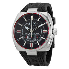 Armani Exchange Trimeter Black Dial Mens Chronograph Watch AX1804