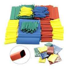 260X Assortment 2:1 Heat Shrink Tubing Tube Sleeving Wrap Wire Kit Set 8 Sizes P