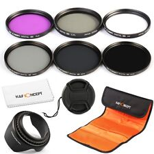 55mm Filter UV CPL FLD ND2 ND4 ND8 Lens Filters For Sony Alpha A55 A65 A77 A57