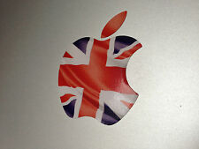 British Union Jack Flag Apple Logo Decal Sticker for Apple MacBook Air/Pro