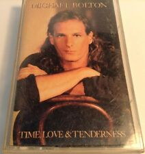 Time, Love & Tenderness by Michael Bolton (Cassette, Apr-1991, Columbia (USA))