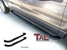 TAC 2014-2016 TOYOTA Highlander / Highlander Hybrid 3'' BLACK Side Step Bars