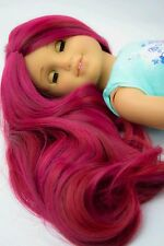 Custom American Girl Doll Wig Rainbow!! HEAT SAFE fits 10-11 inches ©EDD