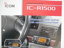 Icom-r1500 (Genuino folleto sólo).......... radio_trader_ireland.