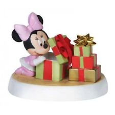 Disney Precious Moments 151706 Minnie Opening Gift Figurine New & Boxed