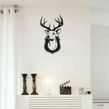 Deer Buck Head Hunt Poster Animal Home Decor Vinyl Wall Decal Art Sticker Mural