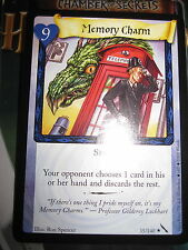 HARRY POTTER TCG CARD CHAMBER OF SECRETS MEMORY CHARM 35/140 RARE MINT ENGLISH