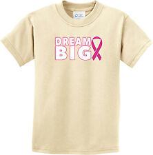 Kids T-Shirt Breast Cancer Awareness Shirt Dream Big