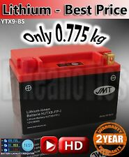 Lithium ion motorbike Battery Direct replace YTX9-BS JMT aliant shorai shido