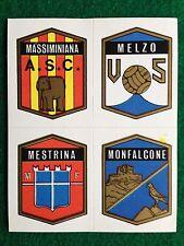 CALCIATORI 1972-73 n 551 SCUDETTO MASSIMINIANA MELZO Figurina Sticker Panini NEW