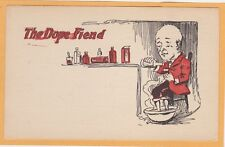 Social History Postcard - The Dope Fiend - Substance Abuse