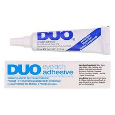 DUO EYELASH GLUE ADHESIVE CLEAR TONE LARGE 14g WORLDS BEST SELLING LASH GLUE
