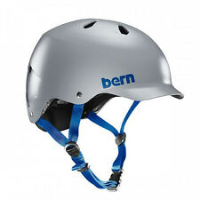 Bern Watts EPS Mens Bicycle Helmet w/ Brim SATIN GREY 2X/3X Bike Safety