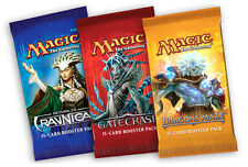 * Booster Packs * 1x Return to Ravnica *  1x Gatecrash  * 1x Dragon's Maze *